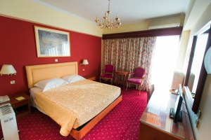Single Room with Terrace, GRAND HOTEL| LARISSA HOTELS | HOTELS IN LARISSA| VACATIONS IN LARISSA | LARISSA | THESSALY | GREECE